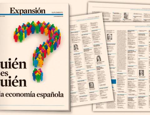Quien es quien en la economía española en el diario Expansión