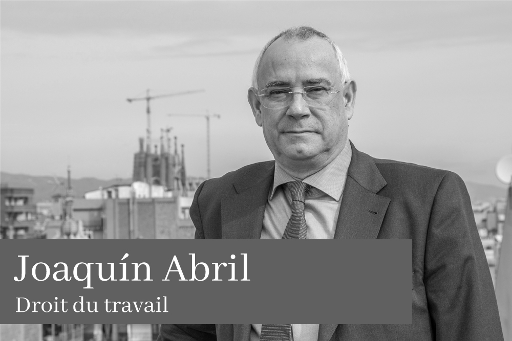 Joaquín Abril Droit du travail AGM Avocats