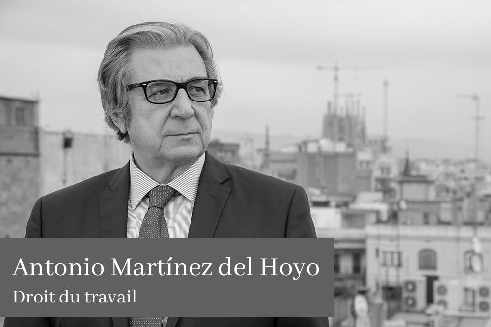 Antonio Martínez del Hoyo Clemente Droit du travail AGM Avocats
