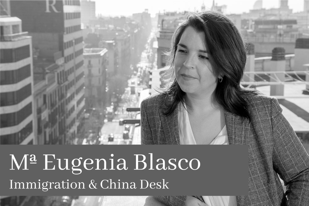 Maria Eugenia Blasco Immigration & China Desk AGM Lawyers