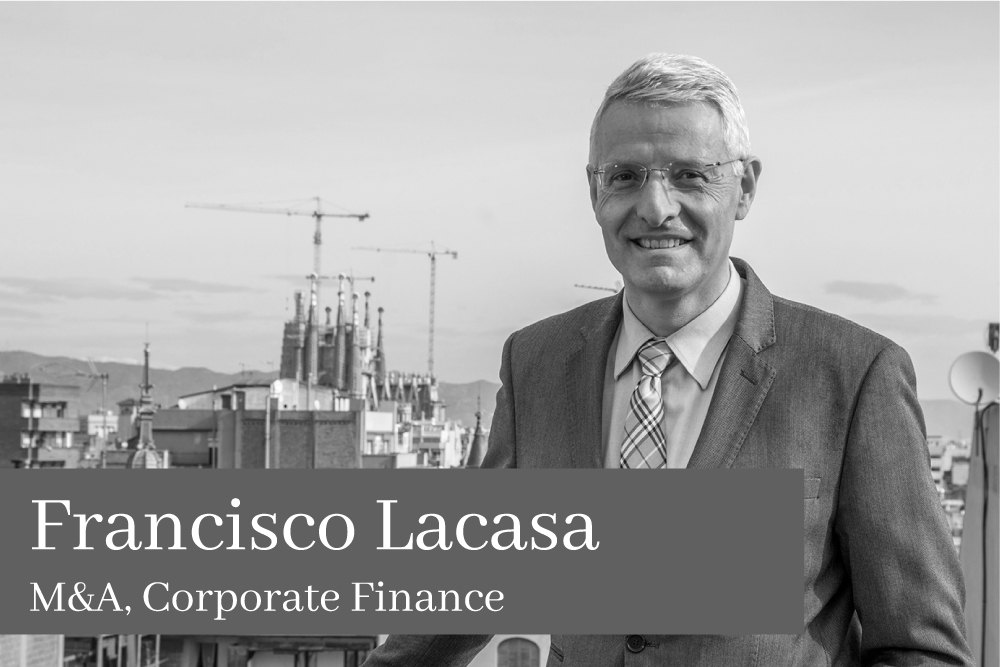 Francisco Lacasa M&A Corporate Finance AGM