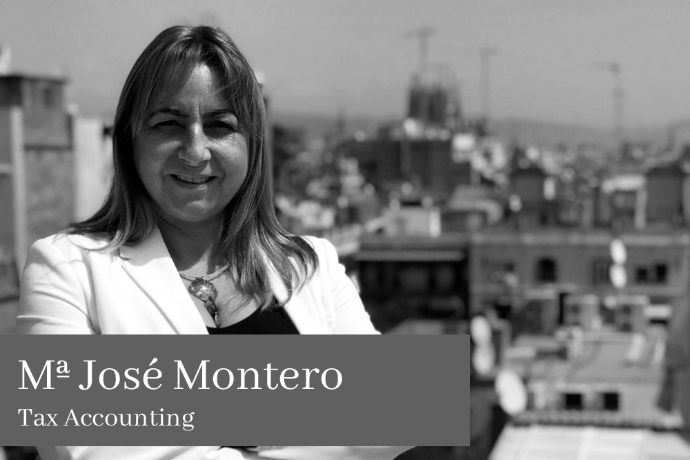 Mª José Montero Luceño Tax Accounting