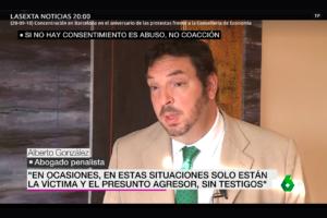 Alberto González habla sobre el abuso sexual en la sexta noticias