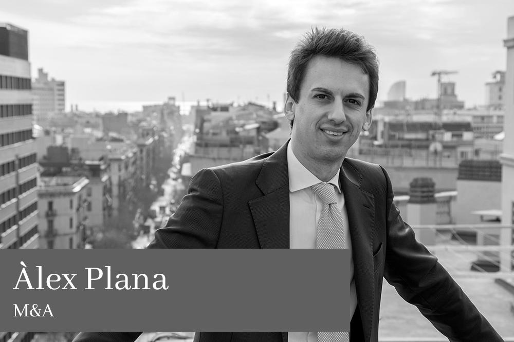 Àlex Plana Paluzie M&A AGM Lawyers