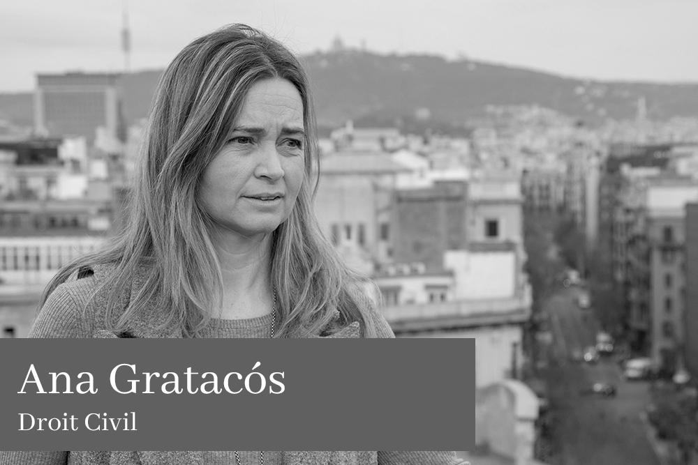 Ana Gratacós Grau Droit Civil AGM Avocats