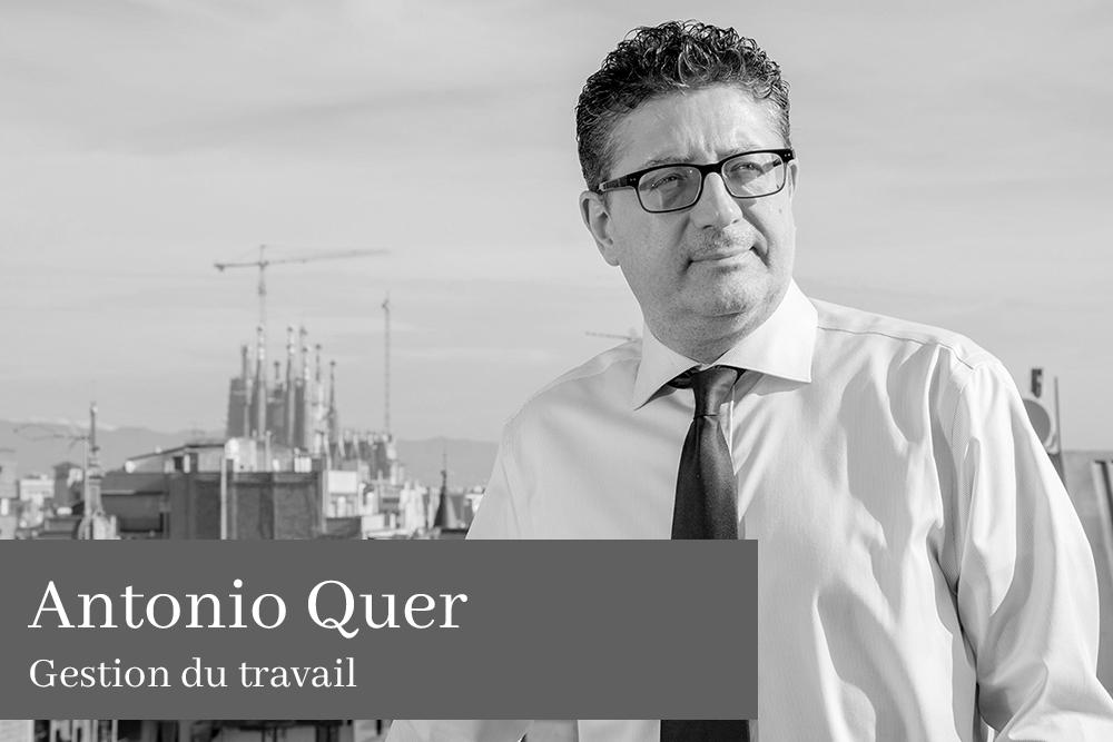 Antonio Quer Poblador Gestion du travail
