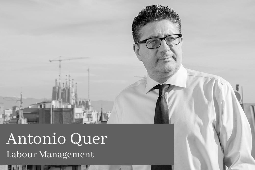 Antonio Quer Poblador Labour Management