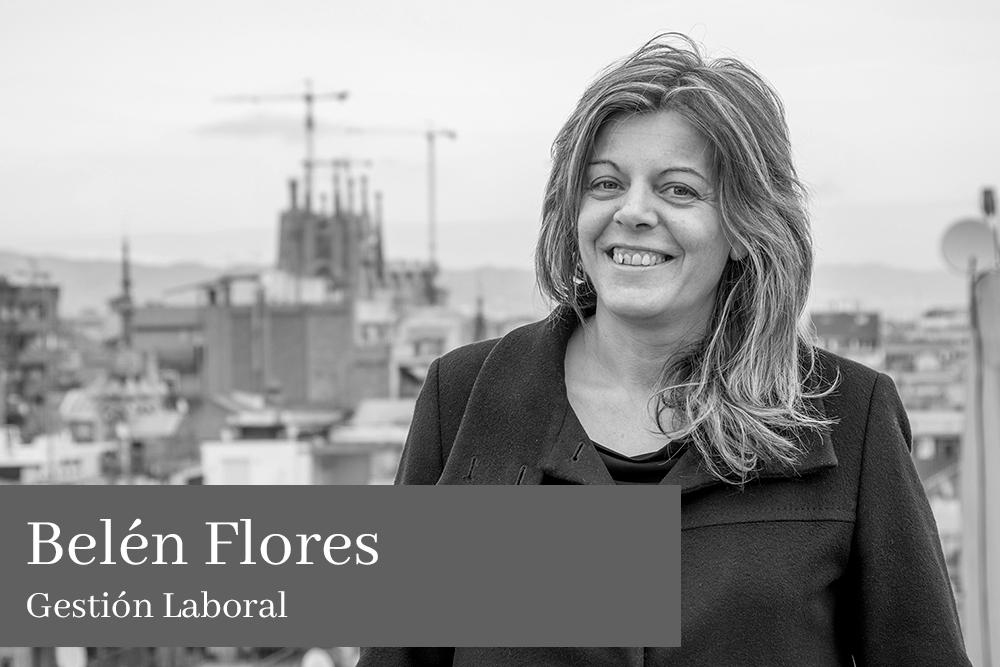Belén Flores García Gestión Laboral AGM Abogados