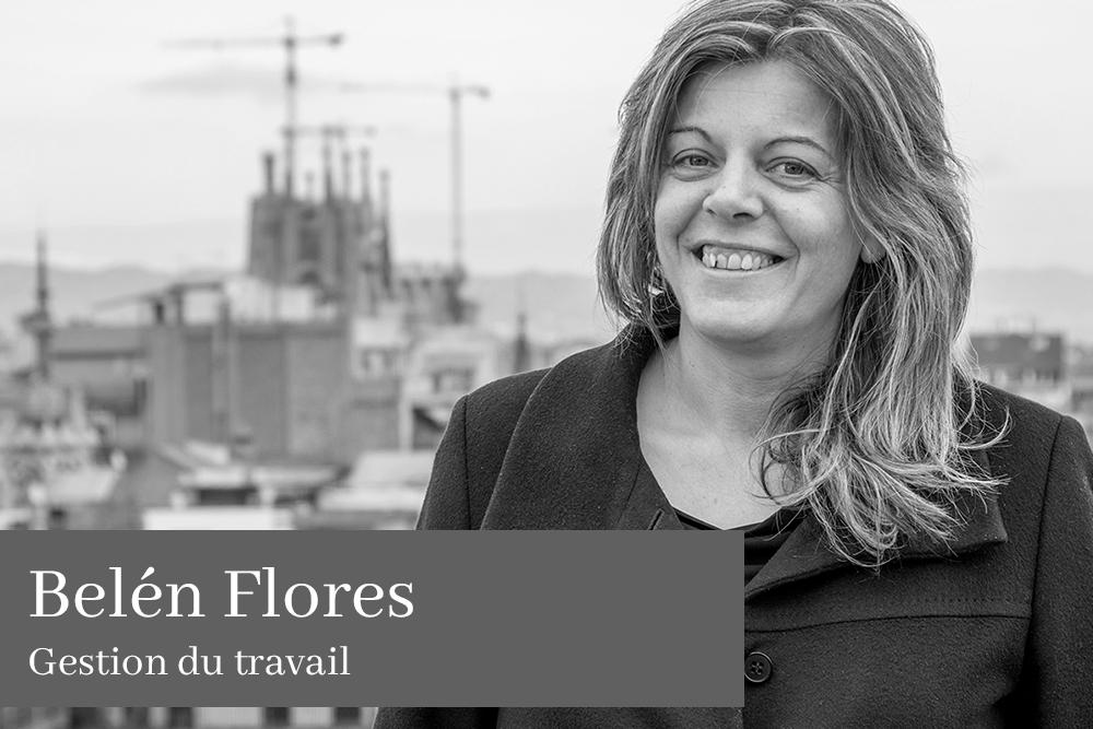 Belén Flores García Gestion du travail