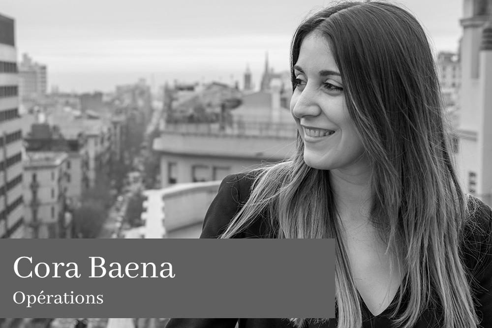 Cora Baena Pérez Opérations AGM Avocats