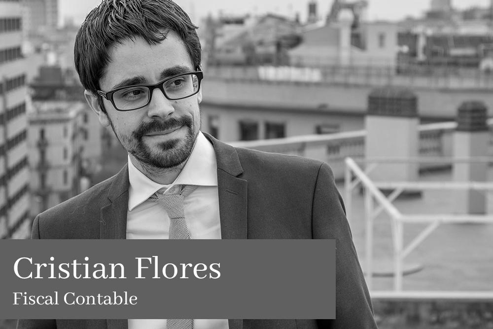 Cristian Flores García Fiscal Contable AGM Abogados