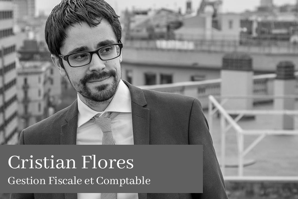 Cristian Flores García Gestion Fiscale et Comptable