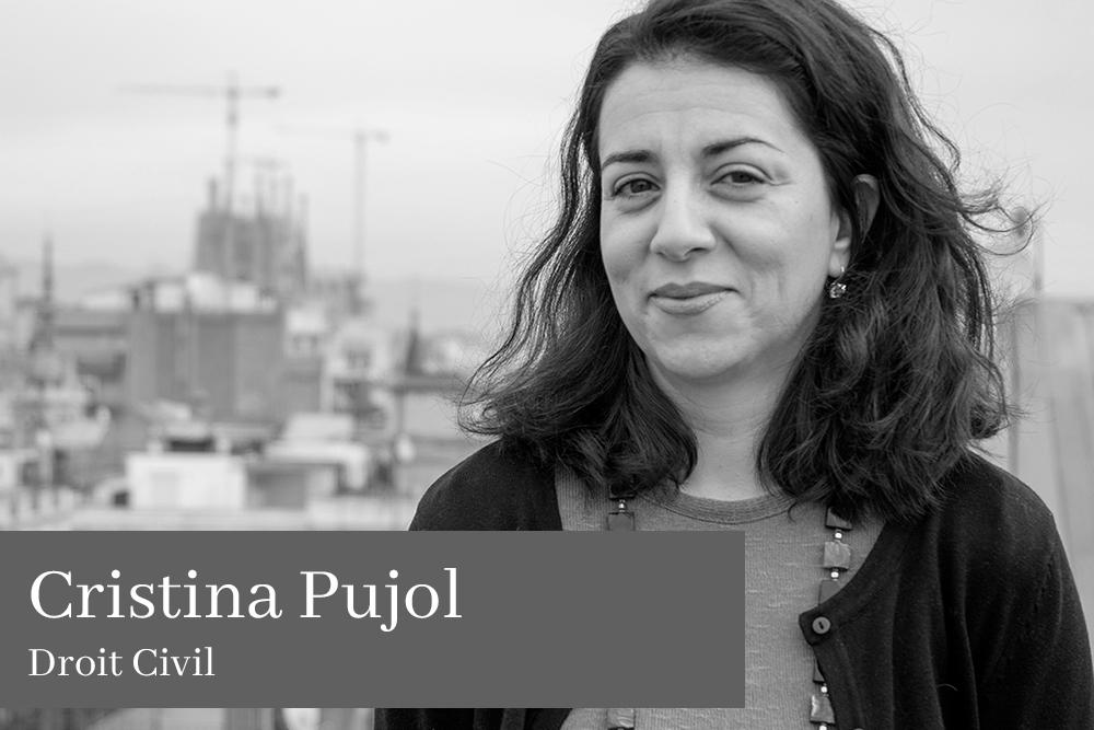 Cristina Pujol Tristancho Droit Civil AGM Avocats