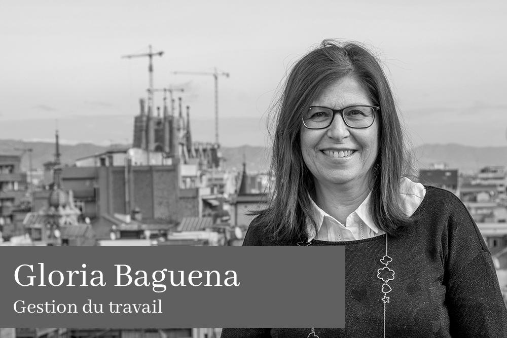 Gloria Baguena García Gestion du travail