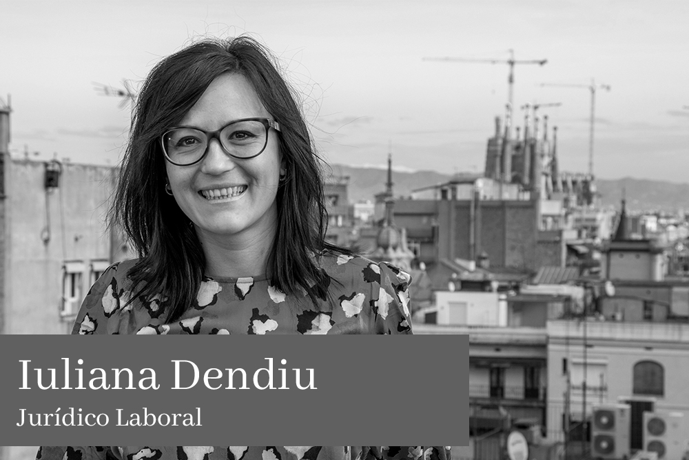 Iuliana Dendiu Jurídico Laboral AGM Abogados