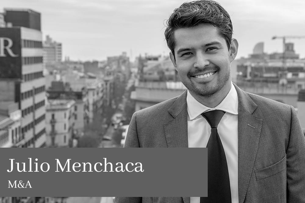 Julio Menchaca Vite M&A AGM Avocats