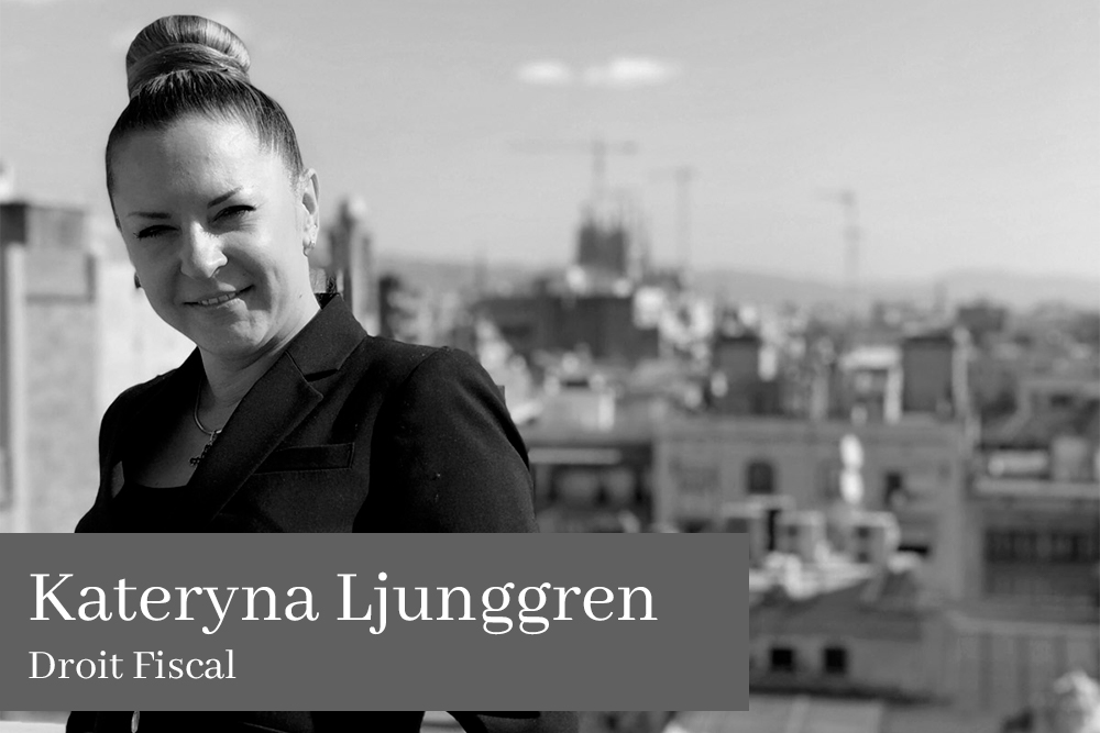 Kateryna Ljunggren Droit Fiscal
