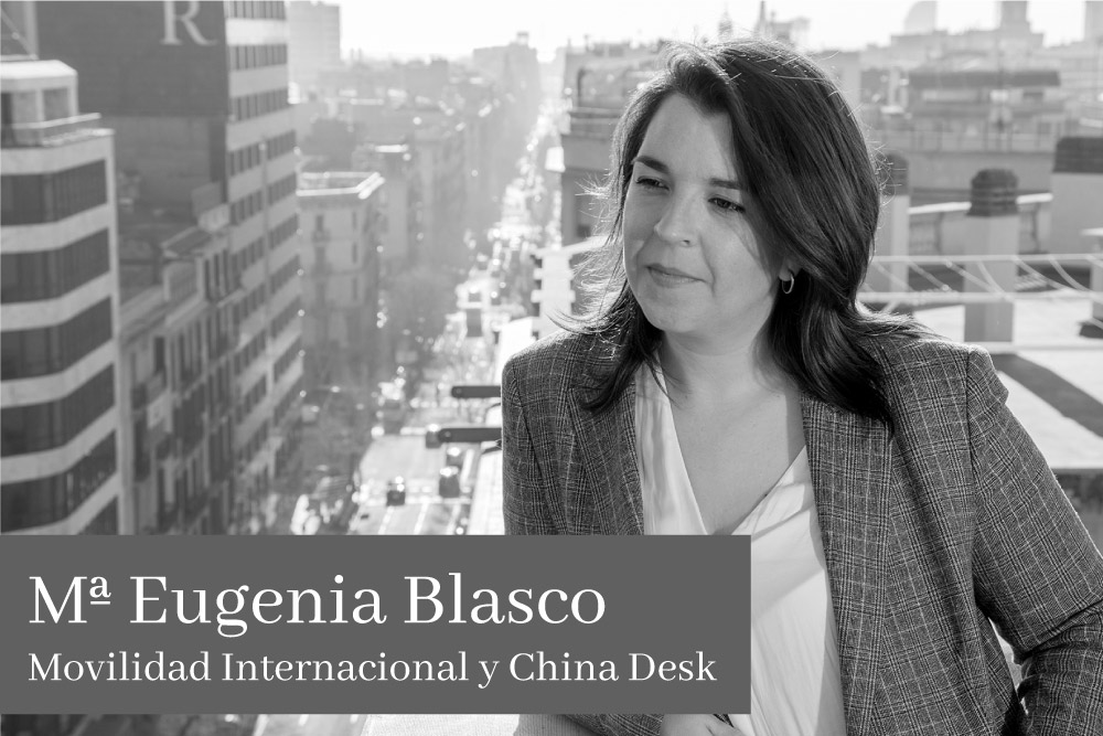 Maria Eugenia Blasco Movilidad Internacional y China Desk