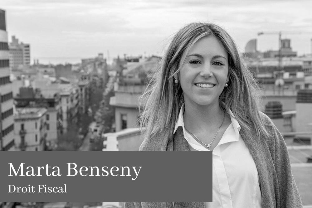 Marta Benseny Almirall Droit Fiscal AGM Avocats