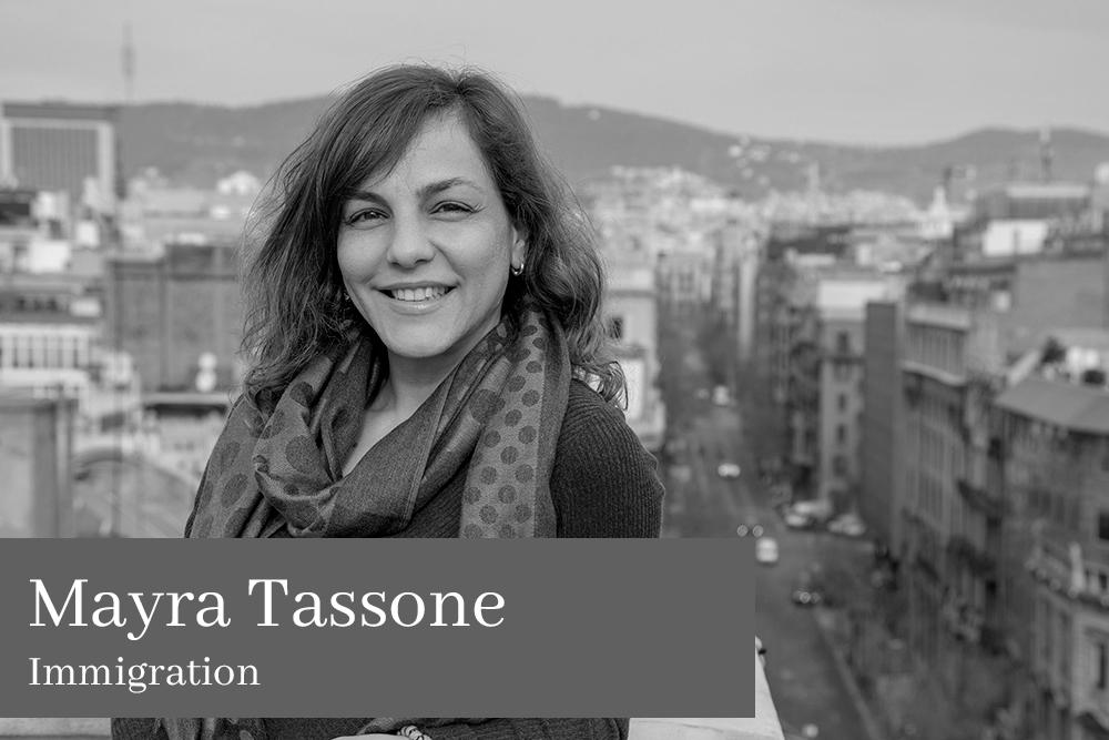 Mayra Tassone Immigration