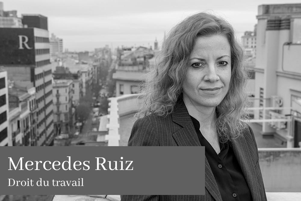 Mercedes Ruiz Barrera Droit du travail