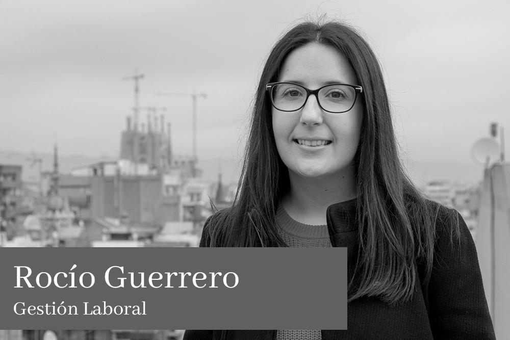 Rocío Guerrero Ayala Gestión Laboral AGM Abogados