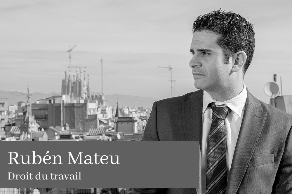 Rubén Mateu Cerezuela Droit du travail