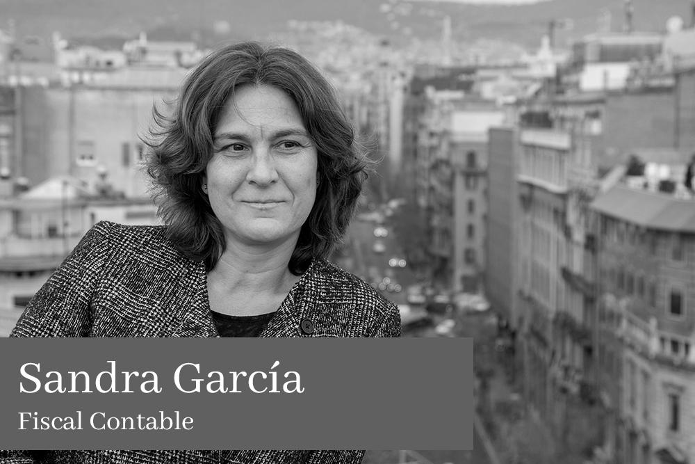 Sandra García Sanz Fiscal Contable AGM Abogados