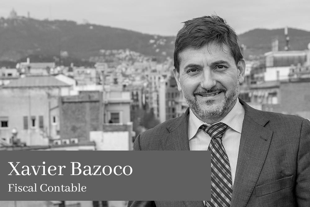 Xavier Bazoco García Fiscal Contable AGM Abogados
