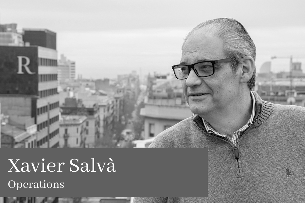 Xavier Salvà Operations AGM Lawyers