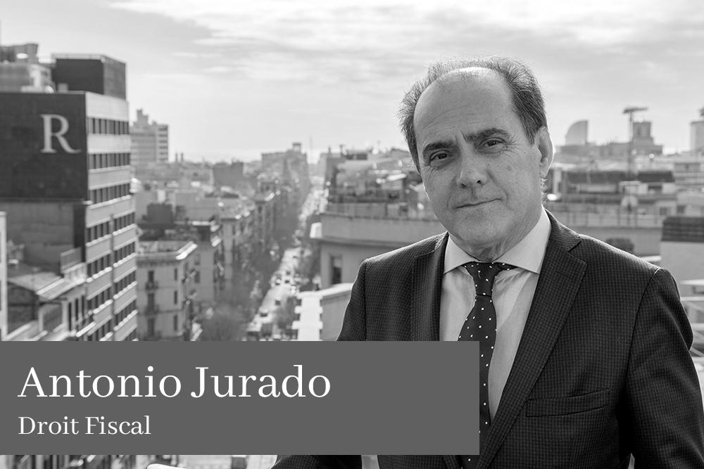 Antonio Jurado Droit Fiscal L'équipe