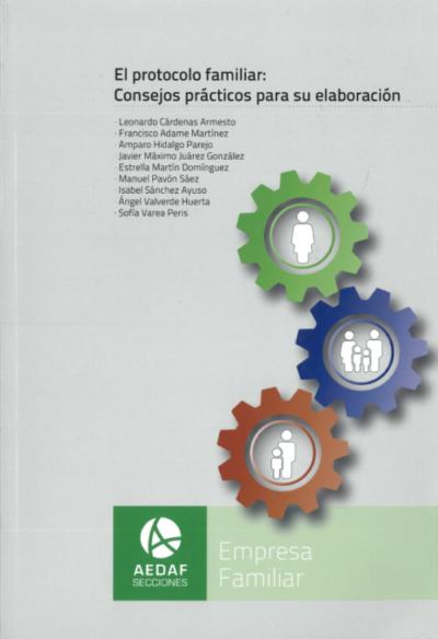 Leonardo Cárdenas publica un nuevo libro sobre el protocolo familiar